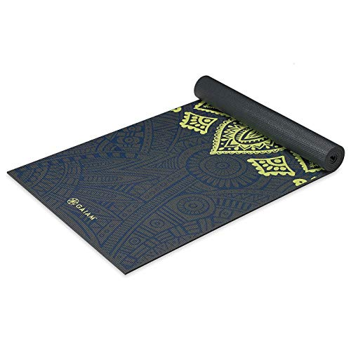 gaiam Yoga Mat, Sports & Outdoor, Sundial Layers, 68 24-Inch x 6mm