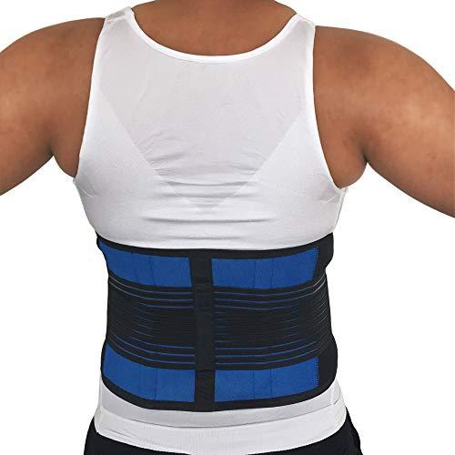 LLZGPZBD corrigerende riem, verstelbaar in de rug van de taille, toermalijn, lendenwervels, massageband