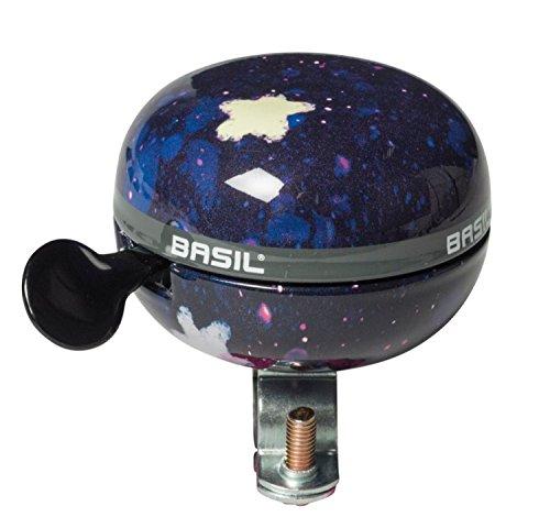 Basil Unisex Jugend Stardust Fahrradklingel, Nightshade, 6 cm x 8 cm x 7 cm