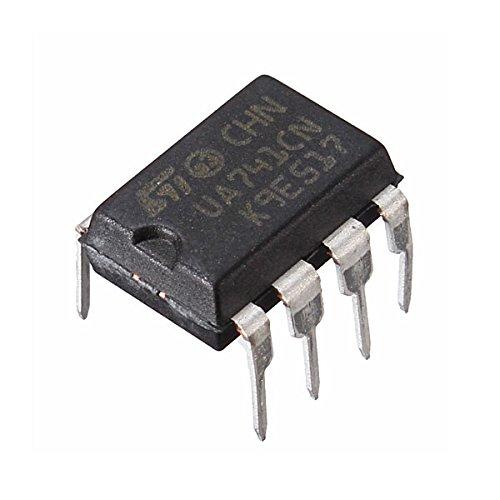 Bluelover 10 Stks UA741CN DIP-8 UA741 LM741 ST IC Chip Operationele Versterkers