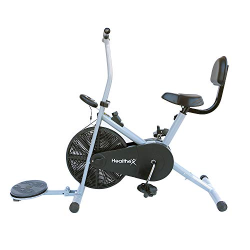 Healthex Exercise Gym Cycle 1001 with Back Support and Twister for...