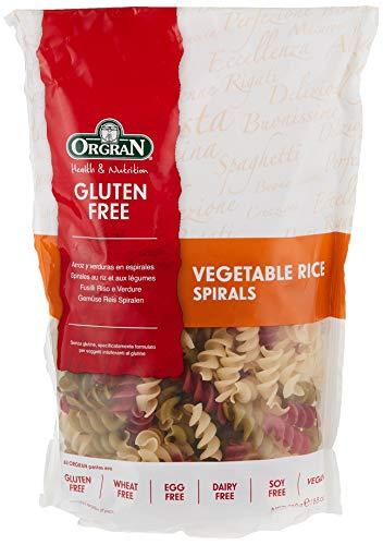 Orgran Vegetable Rice Pasta Spirals Gluten Free - 8.8 oz