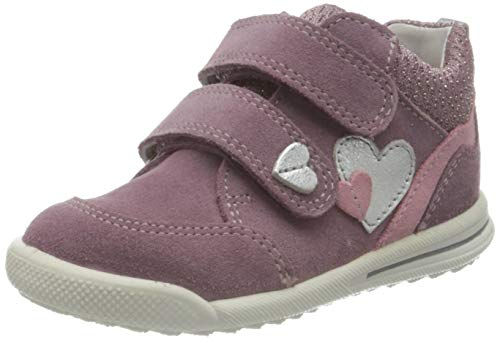 Superfit Avrile Mini Sneaker, LILA/ROSA, 22 EU