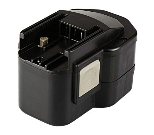 Mitsuru® 3000mAh Ni-MH 12V batterij voor Atlas Copco PEP12TIP/2, AEG BEST12X, Atlas Copco AEG Milwaukee B12, BF12, BF12 System, BX12, BXL12, BXS12, MX12, P12P, P12T, PBS3000, S12P, SB2E12, SB2E12T