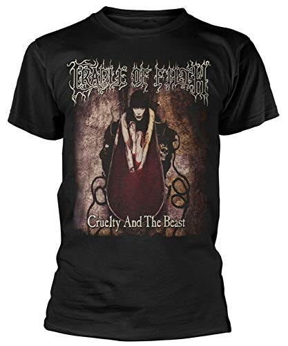 Cradle of Filth 'Cruelty and The Beast' T-Shirt - New & ! Black M