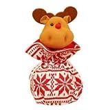 Calza Befana - Borsetta per bambini in maglia da appendere...