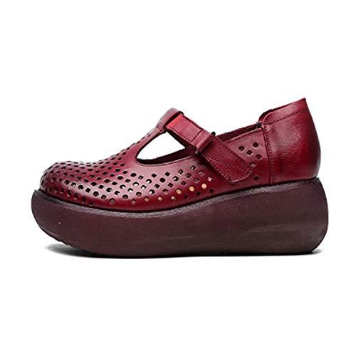 OcaseQ Sandalias de Planas para Mujer Verano 2020 Moda Mules Clog Cuero Pantuflas Zuecos Antideslizantes Pala Cerrada Alpargata Zapatillas de Corcho Confort,Caqui,40