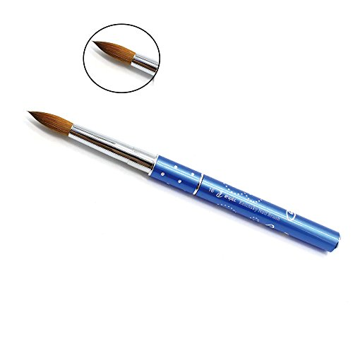 PCS Eval Professional 100% Kolinsky Sable Acrylic Nail Brush