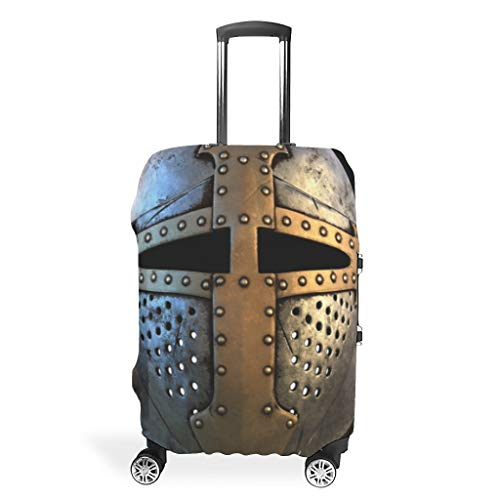 Armor War Chic Various Colors Suitcase Protector Protective 18/20/24/28/32 Inch for Travel White l (66x96cm)