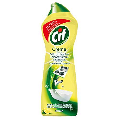 Cif Creme mit Mikropartikeln mit Zitronengeschmack, 500 ml
