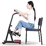 Bicicleta Estática Bicicleta Estática con Pedal Sentado para Personas Gordas/Altas, Ajustable Equipo de Rehabilitación de Accidentes Cerebrovasculares para Personas Mayores Superior e Inferior
