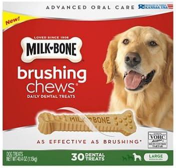 Milk-Bone Brushing Chews Daily Boston Mall Dental pa 30 ct. Popular standard Treats Large