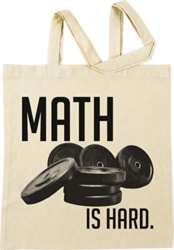 Vendax Math is Hard Beige Einkaufstasche