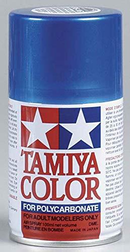 TAMIYA Polycarbonat-Sprühfarbe Metallic-Blau