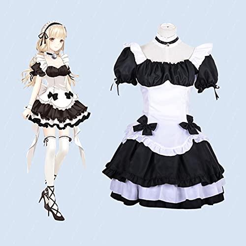 Disfraz De Sirvienta Francesa Vestido Sexy, Disfraz De Oktoberfest Para Mujer, Vestido De Sirvienta Disfraz De Halloween Disfraz De Sirvienta, Disfraz De Sirvienta Vestido De Lolita Lindo Cosplay