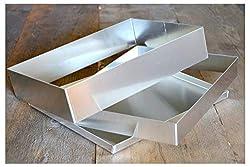 Hobbybäcker.de Frame for baking tray, frame made of sheet metal, 30 x 40 cm, 5 cm high