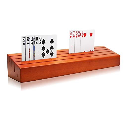 Wooden Playing Card Organizer/Holder