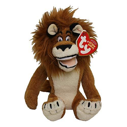 TY Beanie Baby Madagascar - Alex-Lion by Ty Beanie Baby Madagascar - Alex-Lion