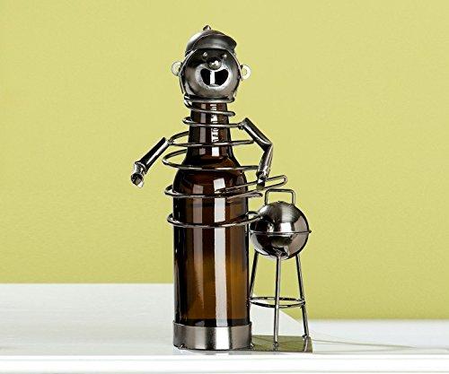 GILDE Bier Flaschenhalter 'BBQ-Chef', 2-teilig, 28 cm