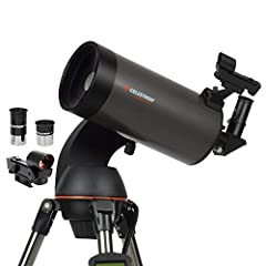 COMPUTERIZED STAR LOCATING TELESCOPE: The Celestron NexStar 127SLT is a computerized telescope that offers a database of more than 40,000 stars, galaxies, nebulae, and more. The telescope locates your object with pinpoint accuracy and tracks it. COMP...