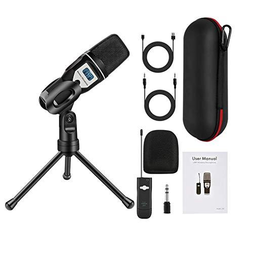 probeninmappx UHF USB micrófono inalámbrico Laptop Stand M