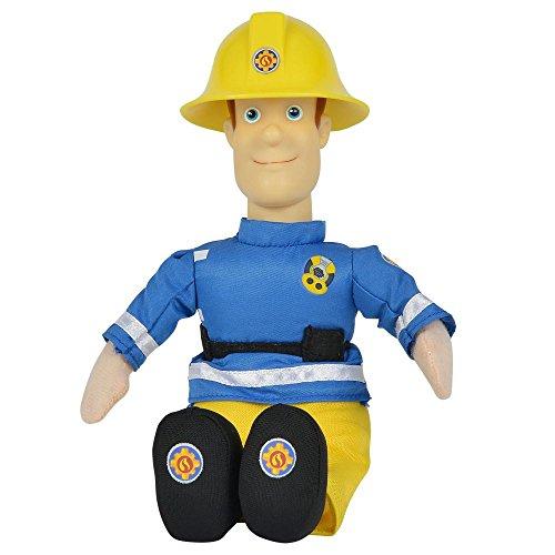 Feuerwehrmann Sam - Auswahl Beanie Puppe Plüsch Figur 25cm, Typ:Sam