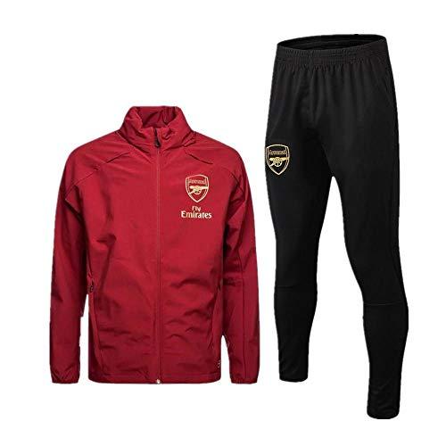 zhaojiexiaodian Heren Sportkleding Set Lange Mouw Full Zip Hooded Pullover Club Jersey Jassen en Broeken