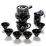 ZHHAOXINPA Chinesisches Keramik-Teeservice, Keramik-Faul-Teemaschine Einfache Teekannenbecher Fair...