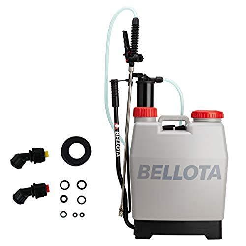 Bellota 3710-16 - Pulverizador con Mochila de pulverización a presión, mochila para fumigar con lanza (Agua)