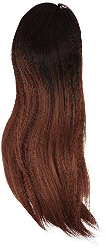 American Dream - AD/N/SUPERSTAR/DS/1B-33 - 100 % Cheveux Naturels - Superstar Cordon Coulissant - Queue de Cheval - Couleur 1B-33 - Noir Nature-Cuivre Riche - 46 cm