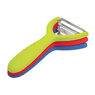 Tovolo 81-6515C Magnetic Tri-Peeler - Set of 3, 3 Pack, Multicolor from Tovolo