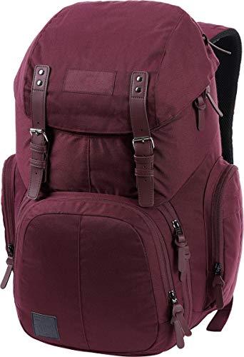 Nitro Weekender Alltagsrucksack mit gepolstertem Laptopfach, Schulrucksack, Wanderrucksack inkl. Nassfach, 42 L, Wine