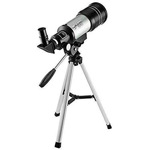 Telescopio Monocular Telescopio Astronómico Principiante con Trípode Telescopio Monocular del Espacio Terrestre Observación de la Luna