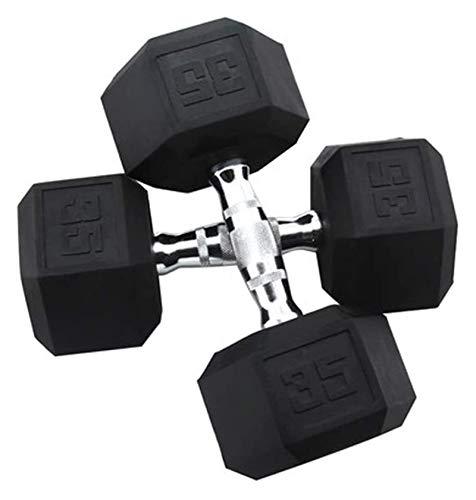 ZHENG Mancuernas Inicio Fitness Formación Personal Estudio Fitness Equipos De Fitness (Color : 35lb