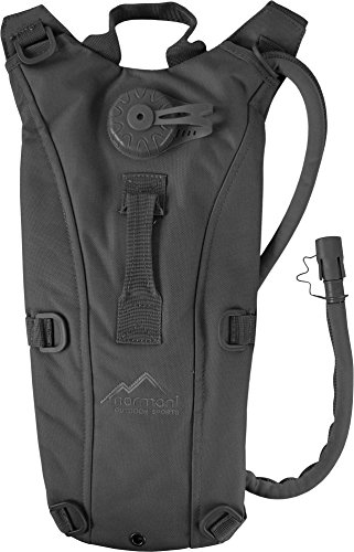normani Trinkrucksack/Hydration Rucksack mit TBU-Beutel 2,5 Liter Farbe Schwarz