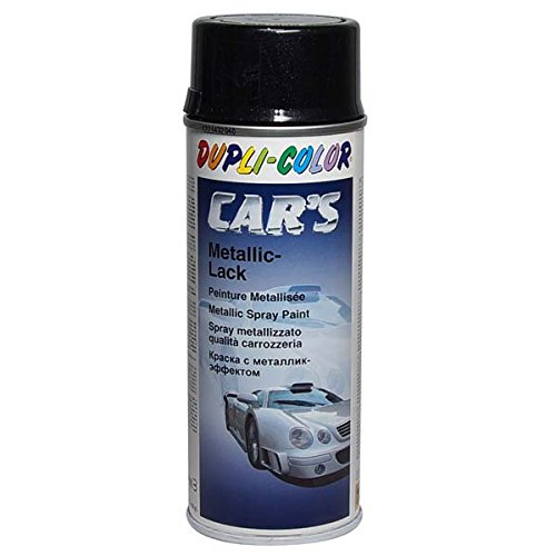 Dupli-Color 706875 Cars Lackspray, 400 ml, Schwarz Metallic