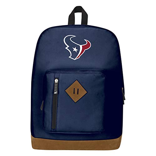Officially Licensed NFL Houston Texans 'Playbook' Backpack, Blue, 18' x 5' x 13'