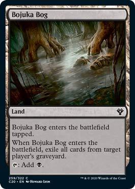 Magic: The Gathering - Bojuka Bog - Commander 2020