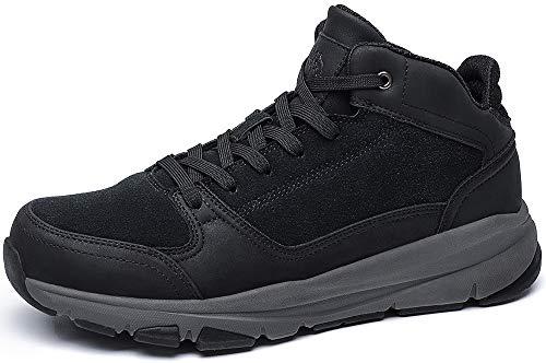 CAMEL CROWN Herren Hohe Sneaker Herren Stiefel Lässige Stiefeletten für männliche Klassische Mode Stiefel Leichte Schuhe für Urbanes Gehen