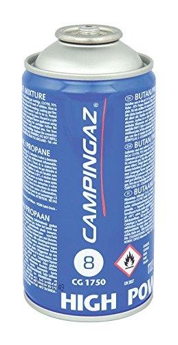CAMPINGAZ Cartouche de Gaz à Valve CG 1750, pour Chalumeaux à Gaz ou Lampe à Souder, Cartouche Compacte et Refermable