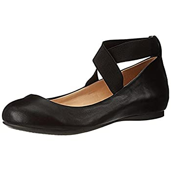 Jessica Simpson Women s Mandayss Ballet Flat Black 5 M US