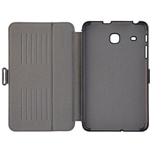 Speck 105454B565 Folio Case for 8 Inch Tablet - Black, Grey - Case for Tablet (Folio, Samsung, Galaxy Tab E 8.0, 20.3 cm (8 Inches), Black, Grey)
