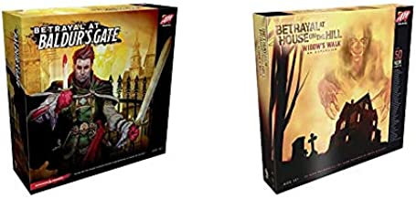 Avalon Hill Betrayal at Baldur's Gate Board Game & House on The Hill: Widow's Walk Board Game