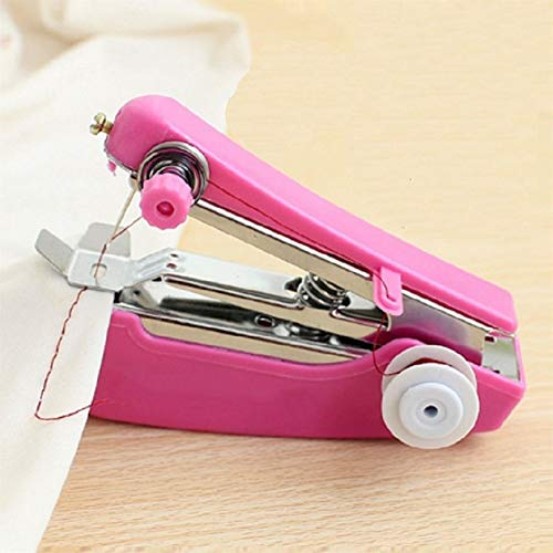 Lowest Prices! Sewing Machine Needlework Cordless Single Hand-Held Sewing Tools Useful Sewing Cloth ...