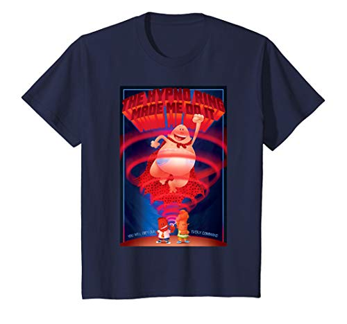 Kids Captain Underpants The Hypno Ring Made Me Do It T-Shirt