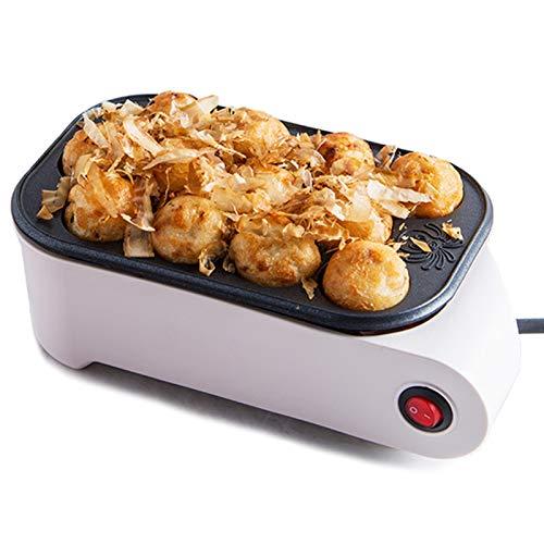 TTFGG Mini-Takoyaki-Maschine, 12-Gitter-Küchenkrake-Kugelhersteller Mini-Elektrische Backpfanne Für Snacks Takoyaki