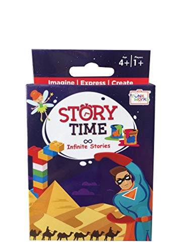 Trunk Works Storytime Travel Card Game  Story Telling Game
