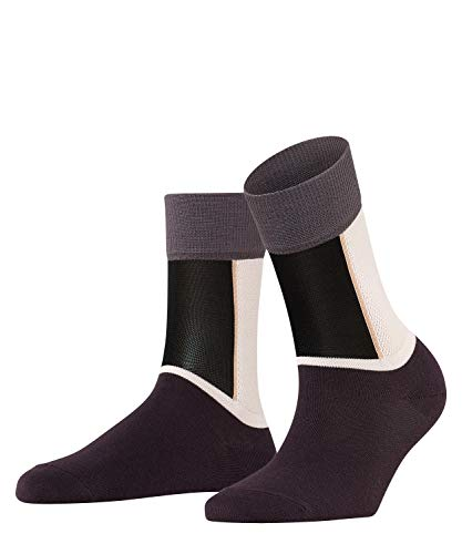 FALKE Damen Socken Soft Study - Baumwollmischung, 1 Paar, Schwarz (Black 3000), Größe: 35-38