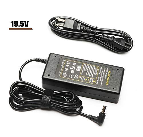 Cargador de TV de 19,5 V CA CC para Sony Bravia TV KDL-32 KDL-40 W600B W650A W674A W700B W800B KDL55W650D KDL48W600B KDL-42W650A KDL-40W600B KDL-32W700B Smart LED LCD HDTV Cable de...