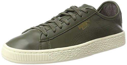 Puma Basket Classic Soft, Zapatillas Unisex Adulto, Verde (Olive Night), 43 EU